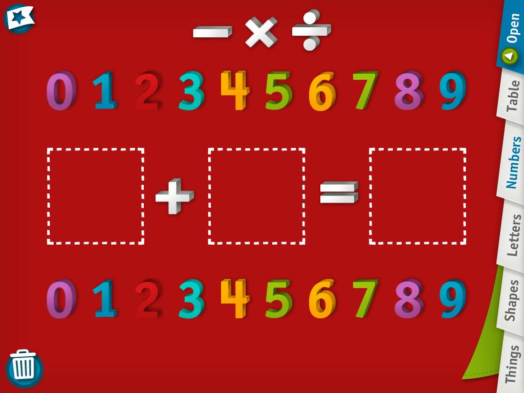 10 ứng dụng toán dạy trẻ các khái niệm số (Ảnh: Spinlight Studio)