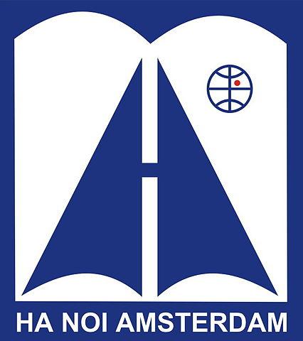 Logo trường THPT Chuyên Hà Nội - Amsterdam (Ảnh: Wikipedia)