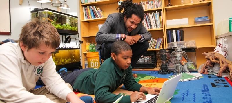 15 cách giúp tăng cường khả năng tập trung cho bé trai (Ảnh: Princeton Academy of the Sacred Heart)