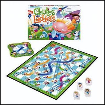 Chutes and Ladders - 10 trò chơi board games kinh điển được trẻ em Mỹ mê mẩn (Ảnh: Teacher Vision)