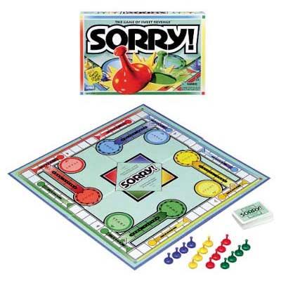 Sorry - 10 trò chơi board games kinh điển được trẻ em Mỹ mê mẩn (Ảnh: Teacher Vision)